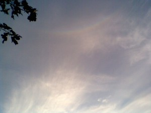 Circumzenithal Arc - Abingdon, 15th Aug 2008