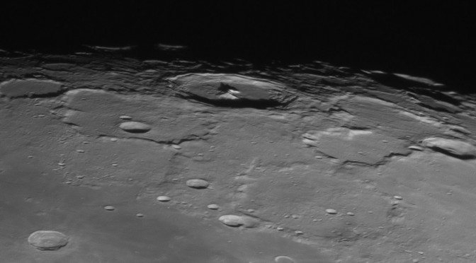 High Resolution Near IR Lunar Imaging – 22nd Jan 2016
