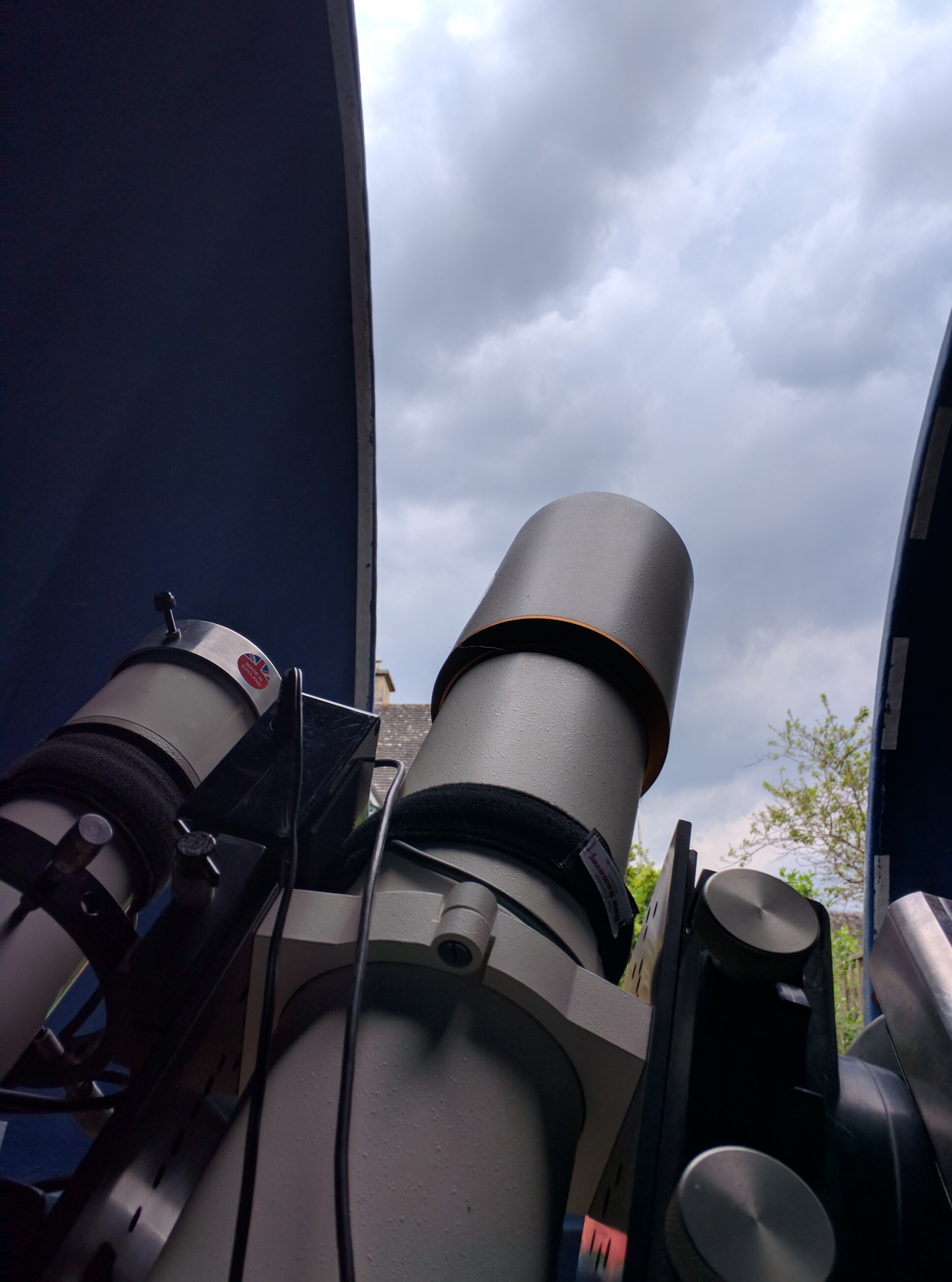 Clouded out for the Transit of Mercury...