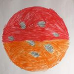 Abi's Amazing Lunar Eclipse Drawing
