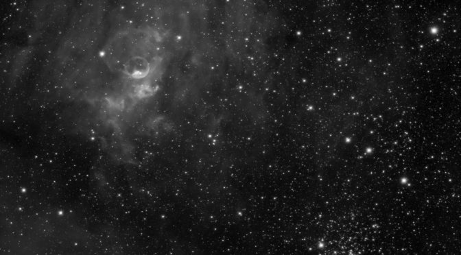 Bubble Nebula + M52; Equipment Updates