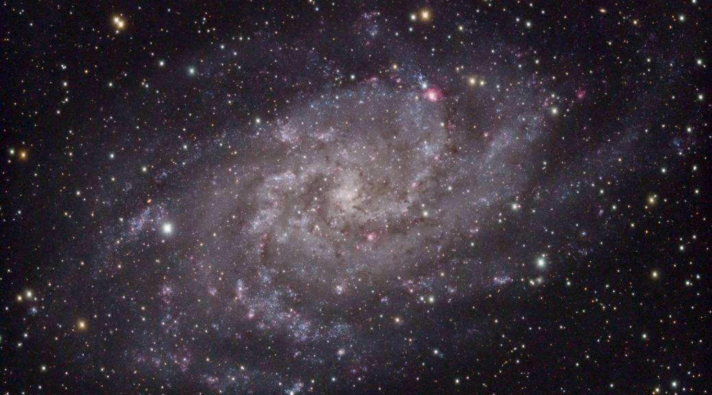 M33 - Pinwheel Galaxy (Header)
