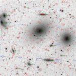 Virgo Cluster - M86/M84 Region, Reverse Annotated