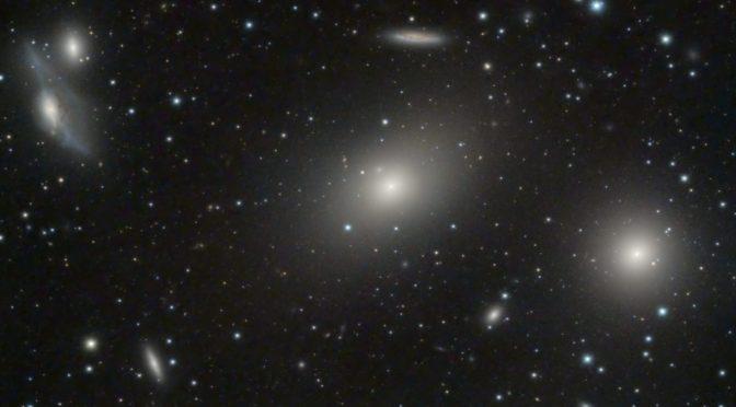 Virgo Galaxy Cluster