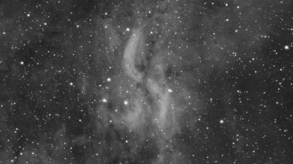Simeis 57 - The Propeller Nebula - Header Image
