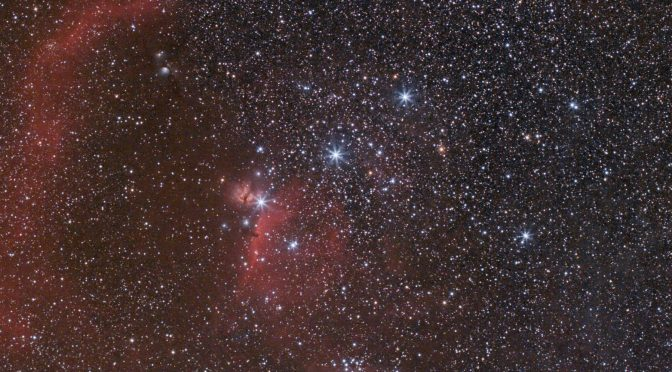 Orion Belt and Sword Region - Header Image