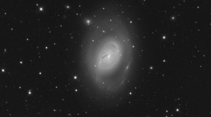 M96 in Leo: An Imperfect Spiral Galaxy