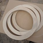 Ply rings for secondary gae and mirror support