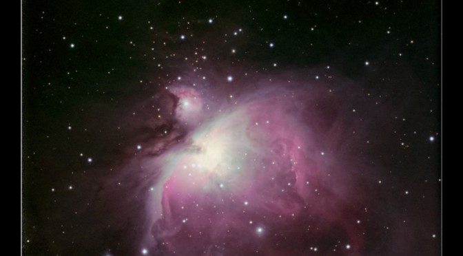 M42, M43, NGC 1977 – The Orion Nebula and Running Man