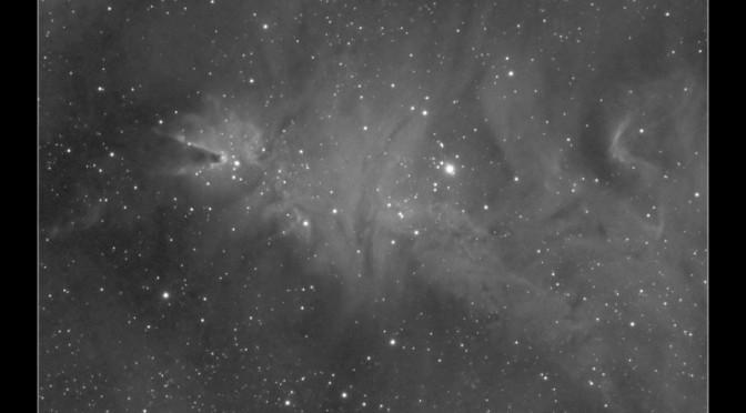 NGC2264 – The Cone Nebula and Christmas Tree Cluster