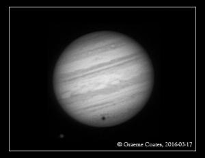 Jupiter 2016-03-17, 23:08 - with Callisto and Shadow Transit