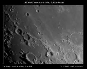 Mare Nubium and Palus Epidemiarus, 2016-05-16