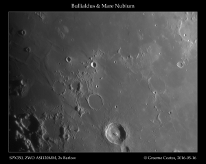 Bullialdus and Mare Nubium, 2016-05-16