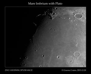 Mare Imbrium and Plato