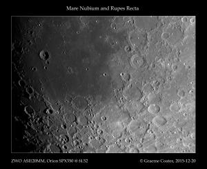 Mare Nubium, Rupes Recta, Rima Birt, Kies Pi