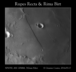 Rupes Recta and Rima Birt 2016-03-17