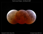 Lunar Eclipse March 3rd 2007 - Montage