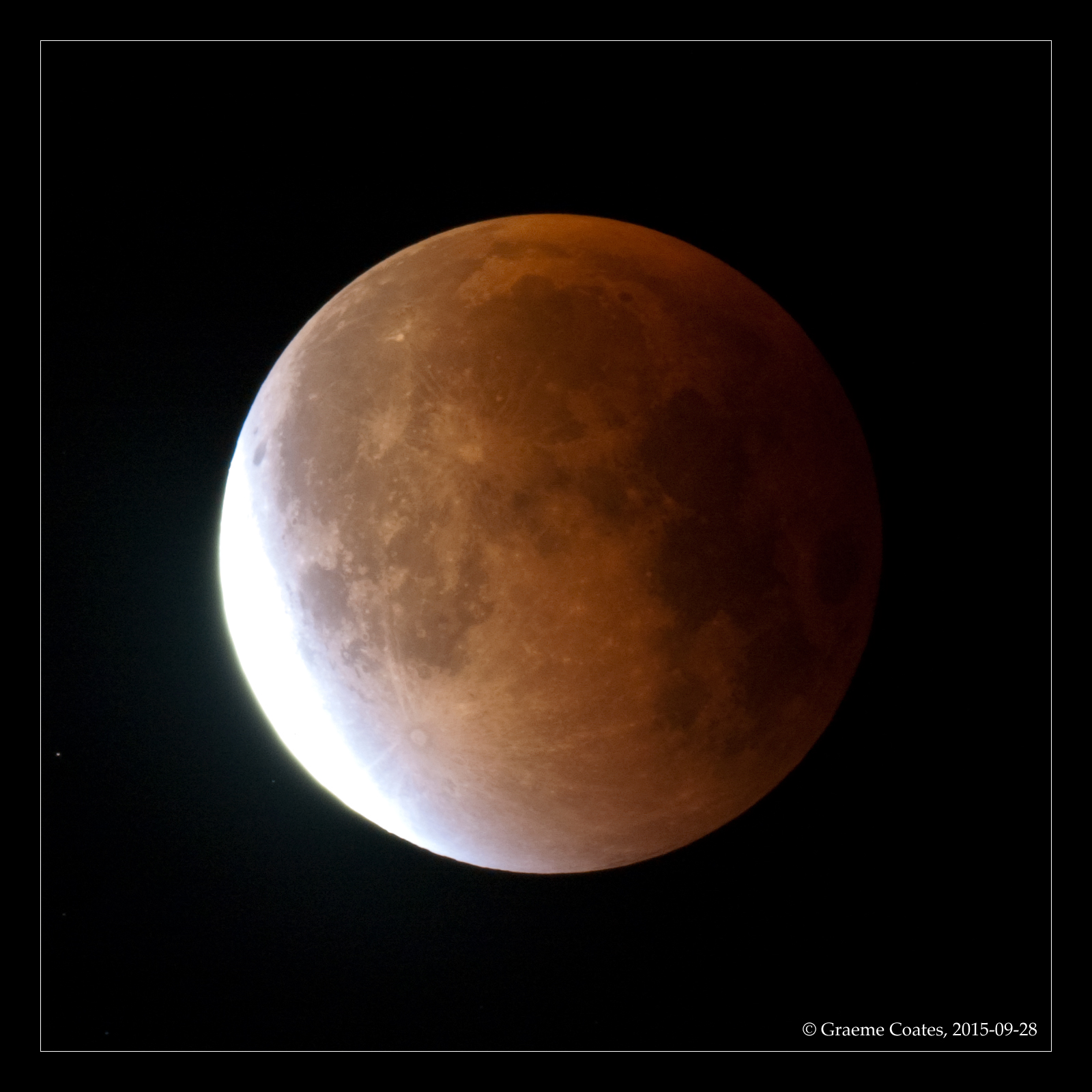 Lunar Eclipse - 28th Sept 2016
