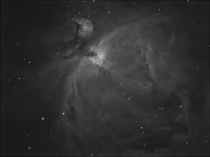 M4, The Orion Nebula in H-Alpha - work in progress