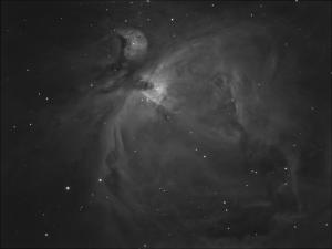 M4, The Orion Nebula in H-Alpha - work in progress