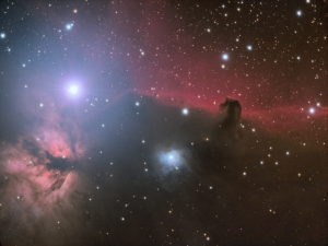 Horsehead and Flame Nebulae - LRGB