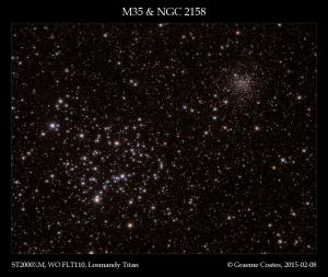 M35 & NGC2158 in Gemini