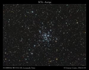 M36 in Auriga
