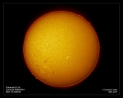 Sun in H-Alpha - 7th Oct 2005