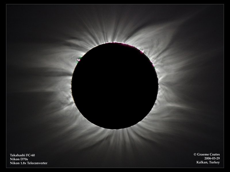 High Contrast Eclipse Composite