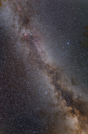 Northern Summer Milky Way from Lacerta to Scutum